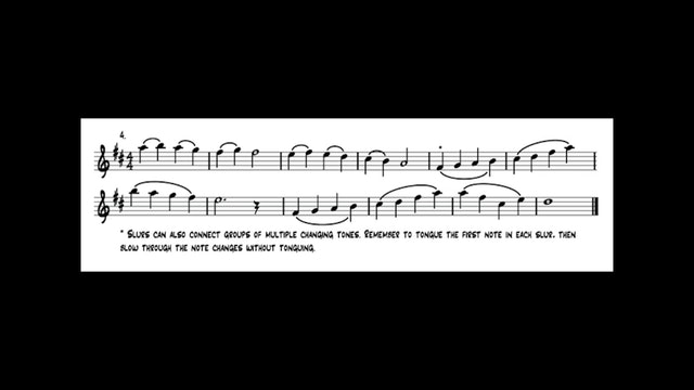 Lesson 7 Playing Exercise Demonstrations - Alto Sax