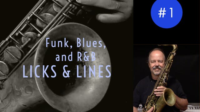 Funk, Blues, and R&B Licks & Lines