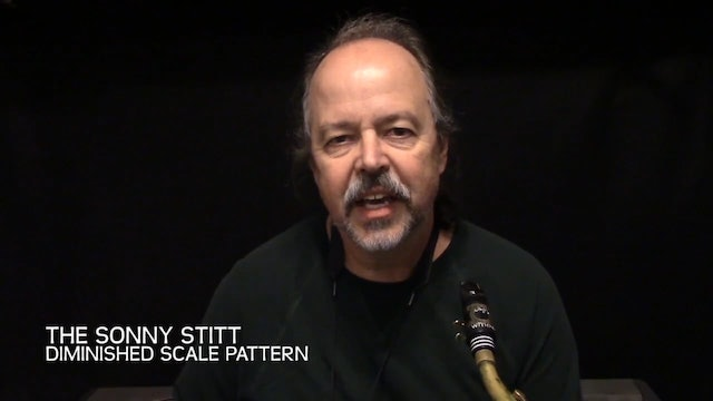 The Sonny Stitt Diminished Scale Pattern