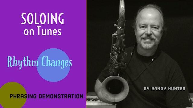 Rhythm Changes Phrasing Demo