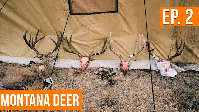 A Wall Tent DEER CAMP On Public Land | Montana Deer (EP. 2)