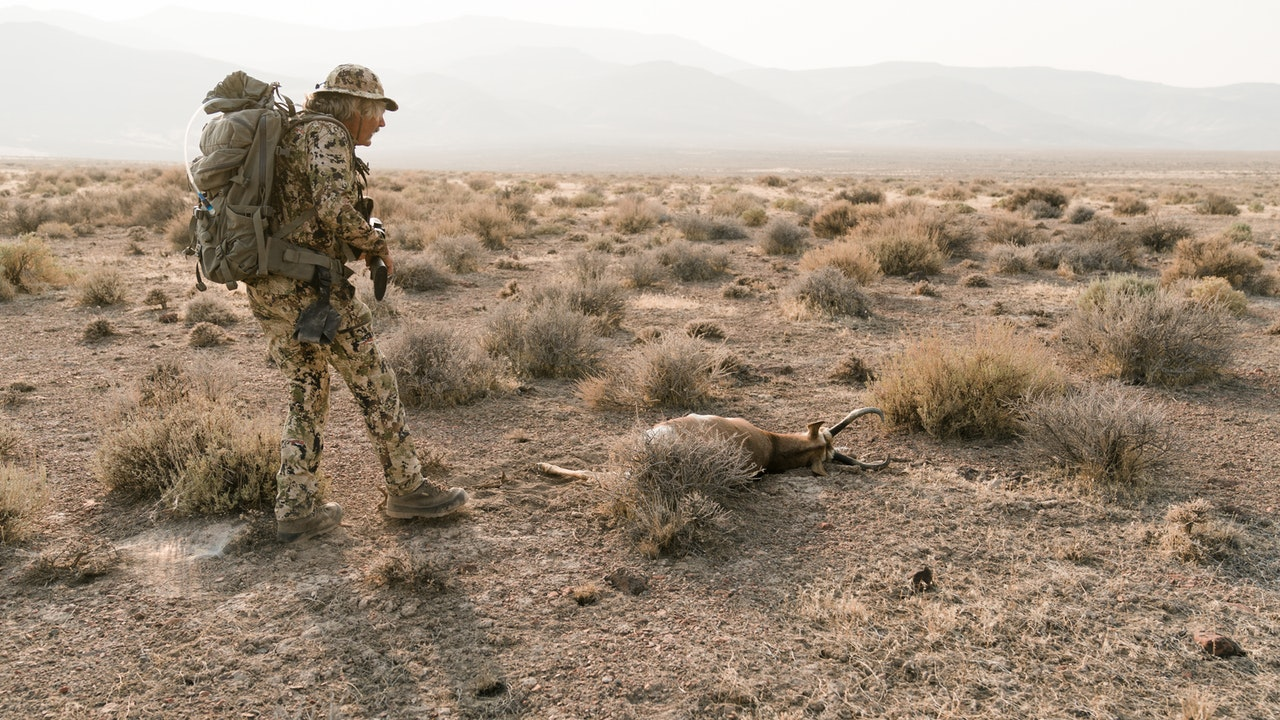 Nevada Antelope with Marcus and Scott Jones