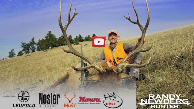 Montana Rifle Elk Hunt - YouTube Exclusive.