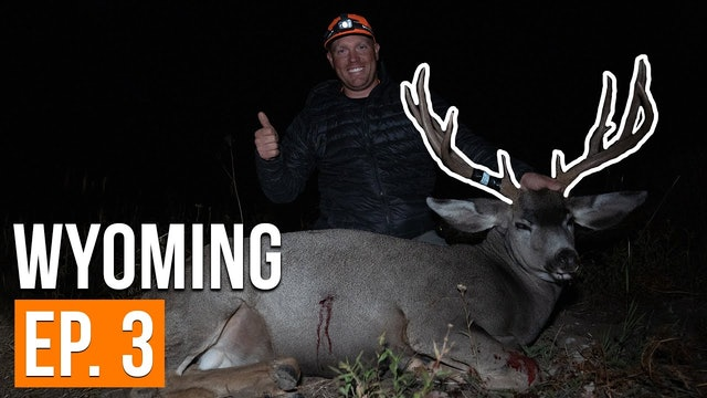 BIG BUCK in the High Country   Wyoming (EP. 3)