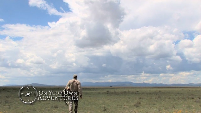 On Your Own Adventures: Season 3, Episode 1 - New Mexico Pronghorn