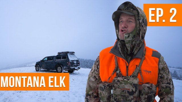 Will The Weather Bring In The Elk?!   Montana Rifle Elk (EP. 2)
