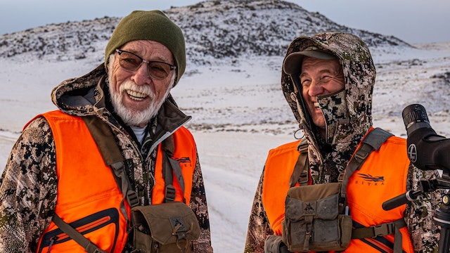 Lucky Larry | Wyoming Elk with Uncle Larry