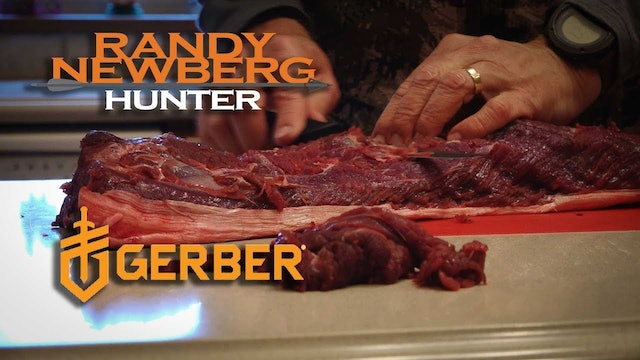 Processing Moose Meat with Randy Newberg