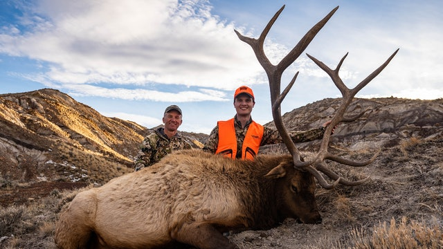 Wyoming Rifle Elk With Matthew