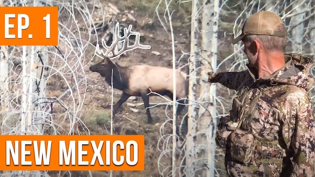 BIG BULL LOCATED   New Mexico Sweepstakes Elk Hunt (EP. 1)
