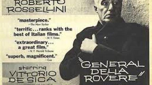 IL GENERALE DELLA ROVERE directed by Roberto Rossellini