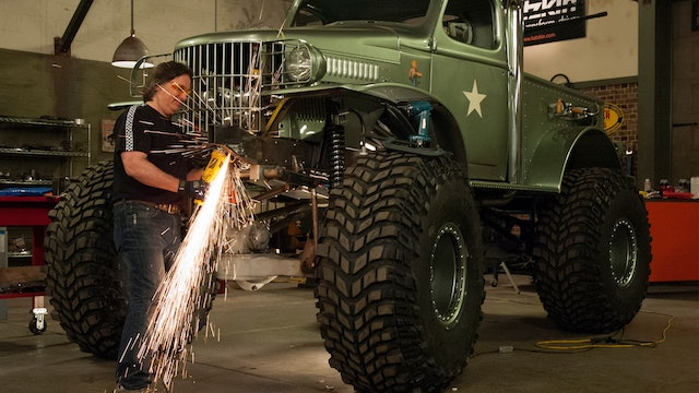 Sgt Rock Bumper Fabrication (Season 8 Episode 9)
