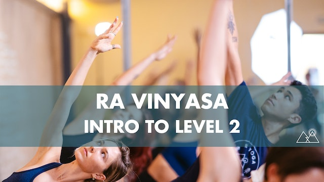 8/2 - 11:00AM Ra Intro to Level 2 w/ Madison C