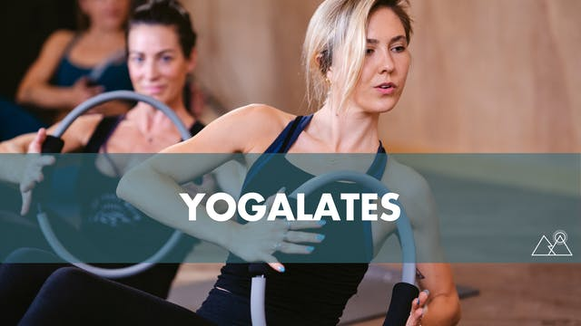 8/7 - 12:00PM Yogalates w/ Laurie C