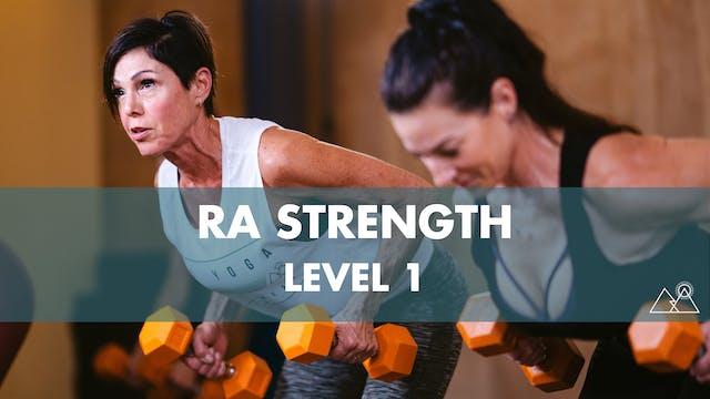 8/8 - 11:00AM Ra Strength 1 w/ Ashley M