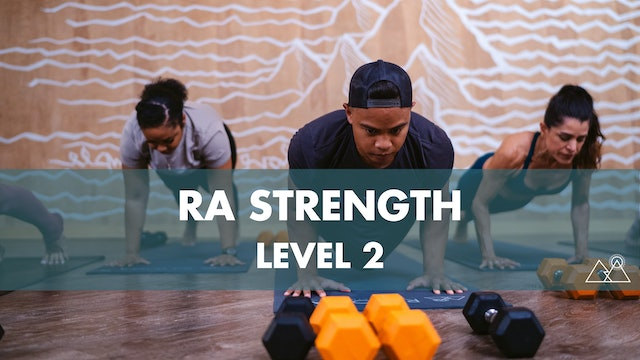8/4 - 7:30AM Ra Strength 2 w/ Laurie C