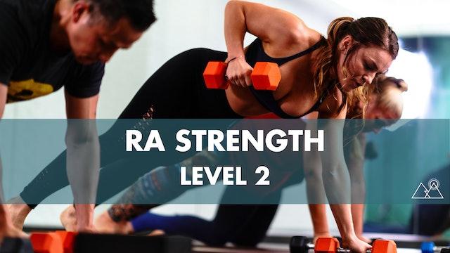 5/31 - 8:00AM Ra Strength 2 w/ Raquel P