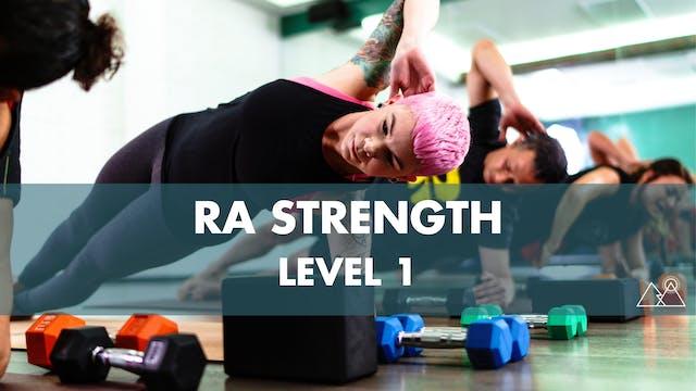 8/7 - 4:00PM Ra Strength 1 w/ Chelsey L
