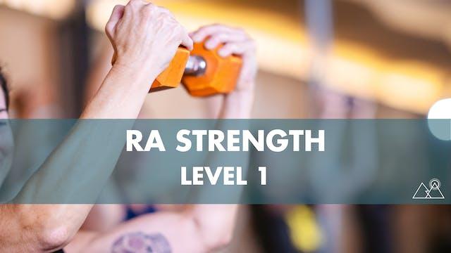 5/30 - 11:00AM Ra Strength 1 w/ Isaac S