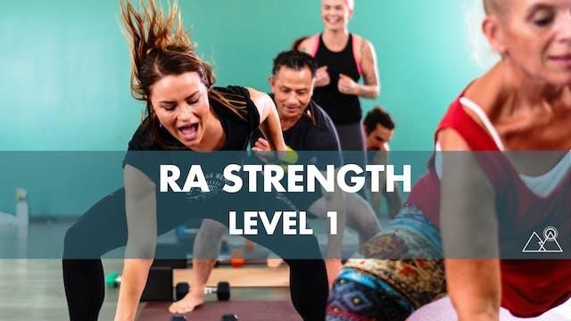 8/5 - 7:30AM Ra Strength 1 w/ TaNesha D