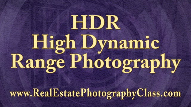 003 HDR - High Dynamic Range