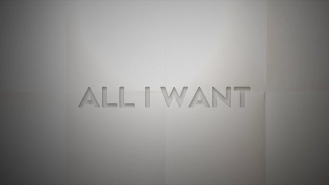 Live With: Thad Cockrell - All I Want