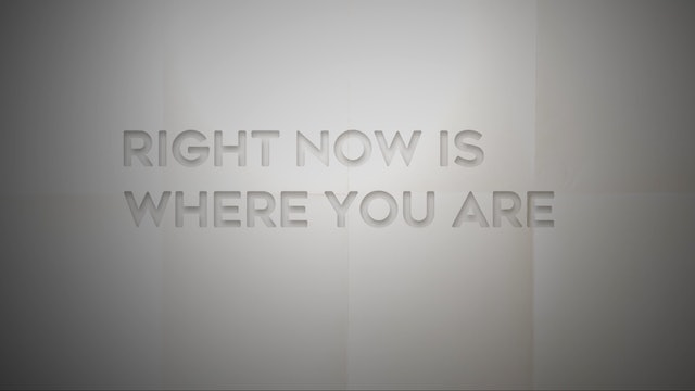 Live With: Ben Sparaco & The New Effect - Right Now Is Where You Are