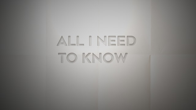 Live With: Seth Walker - All I Need To Know