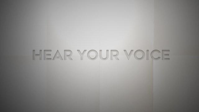 Live With: Danni Nicholls - Hear Your Voice