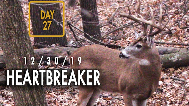 """Jared Day 27: Heartbreaking Bowhunt for 6 1/2-Year-Old """"Marino"""""""