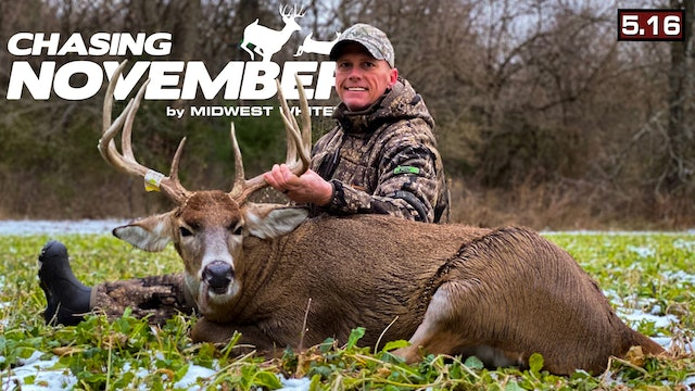 S5.E16. An Iowa Monarch Is Dead | Giant Food Plot Cruiser | Chasing November