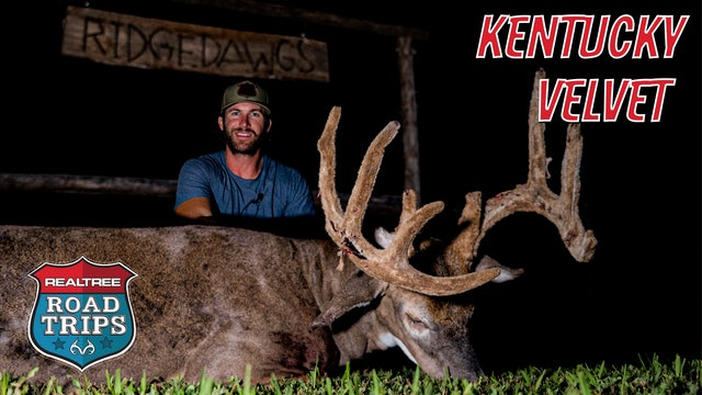 Riley Green Bags a Big Bluegrass Buck | Full-Velvet Giant | Realtree Road Trips