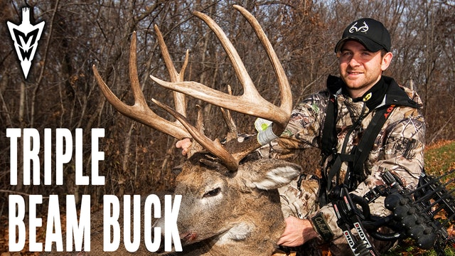 3-30-20: Jared Mill's Triple-Beam Buck | Self-Filming Tips | Midwest Whitetail