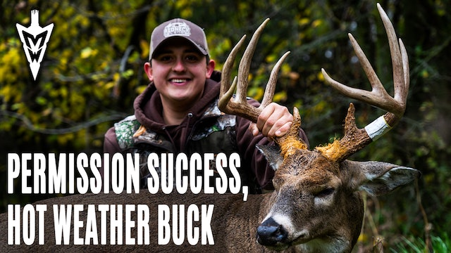 11-2-20: Permission Farm Success | A Big Warm-Weather Buck | Midwest Whitetail