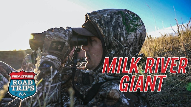 Chasing a Milk River Giant | Bowhunting Montana Whitetails | Realtree Road Trips