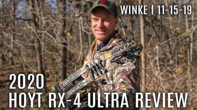 Winke's Blog | 2020 Hoyt RX-4 Ultra Review