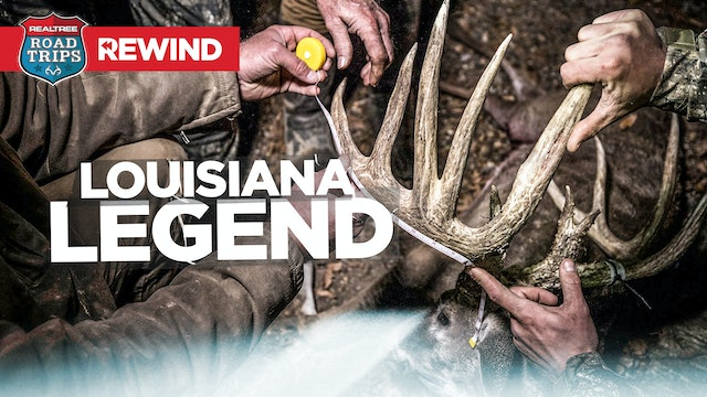 Road Trips Rewind | Louisiana Giant Falls at Hunting Camp | Realtree Road Trips