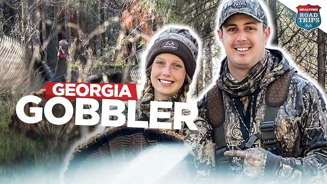 Little Sister Is on the Board | Giant Georgia Gobbler Down | Realtree Road Trips