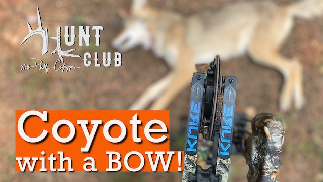 Predator Control with a Bow | Cheeseburger Unveils Hunt Club Mascot | Hunt Club