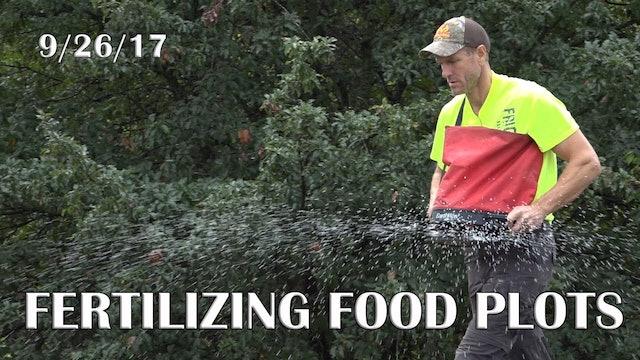 Winke's Blog: Fertilizing Plots