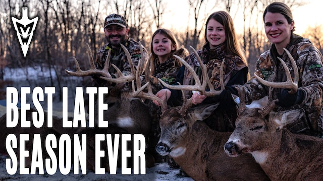 1-11-21: Best Late Deer Season Ever | 3 Bucks in 4 Days | Midwest Whitetail