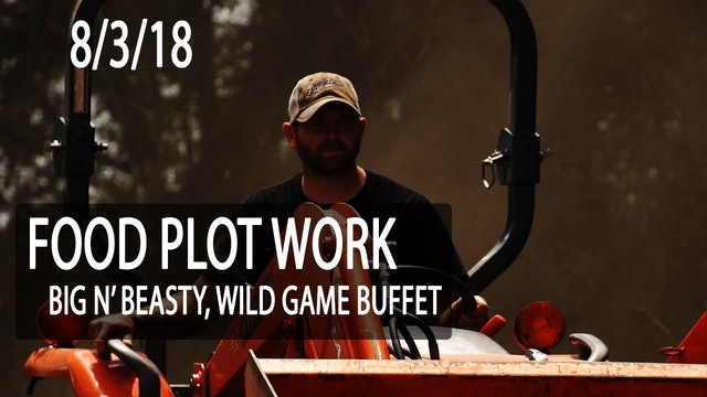 Jared's Blog: Pre-Season Food Plot Work