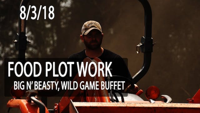 Jared's Blog: Pre-Season Food Plot Work