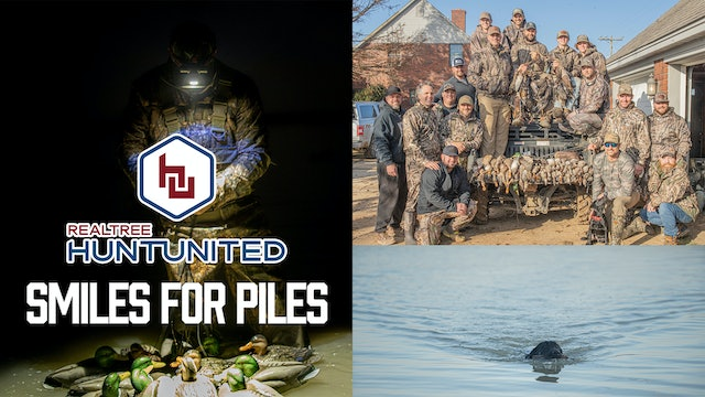 Smiles for Piles | Duck Hunting in Louisiana With Great Friends | Hunt United