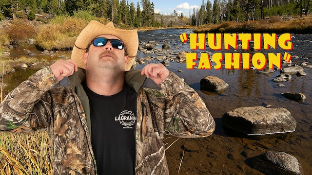 "Pitts on: ""Hunting Fashion"""