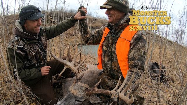 Bill Jordan's Montana Tank with a Droptine | Realtree's Monster Bucks