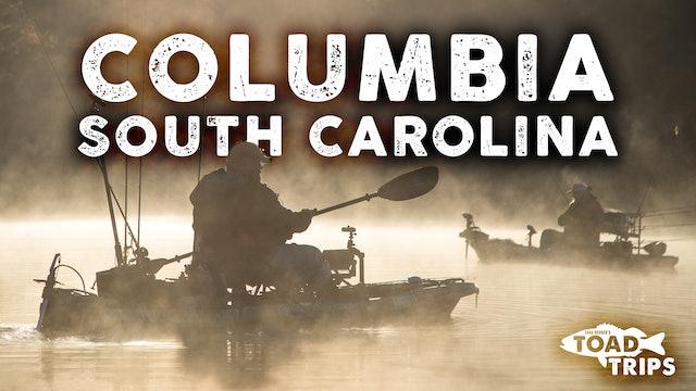 Kayak Fishing in Columbia, South Carolina | Toad Trips