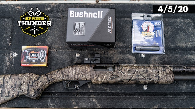The Ultimate Turkey Gear | Remington-Bushnell Duo | Realtree Spring Thunder