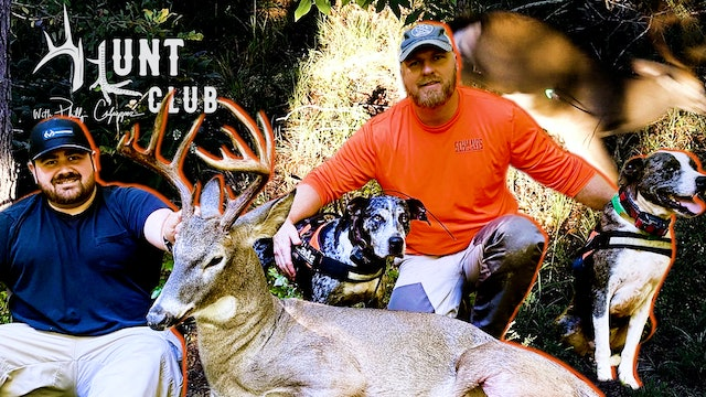 Big Buck Shows Up, Gets Arrowed   Calling in the Tracking Dogs   Hunt Club