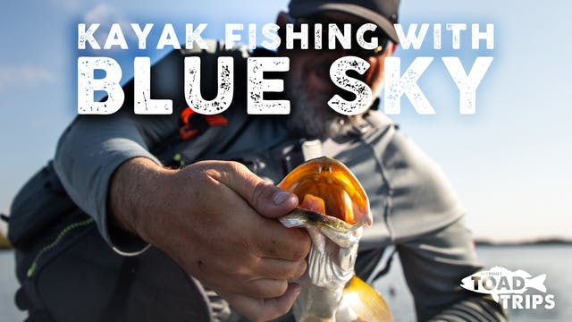 First-Time Kayak Fishing with BlueSky...